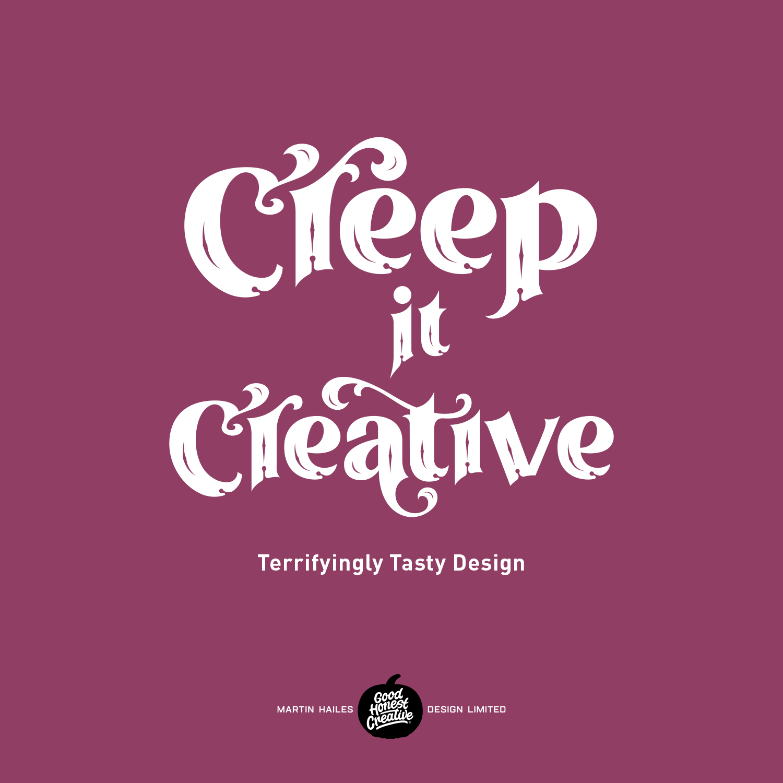 Martin Hailes Design Creep it Creative Halloween